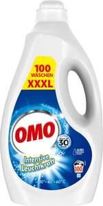 OMO Flüssigwaschmittel XXXL mit Leuchtkraft-Booster 100 WL