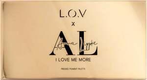 """L.O.V x ANNA LIPPKE """"I LOVE ME MORE"""" Pressed Pigment Palette"""