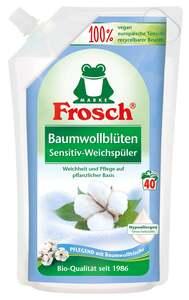 Frosch Baumwollblüten Sensitiv Weichspüler 40 WL
