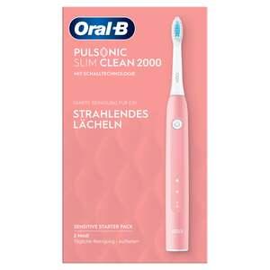 Oral-B Elektrische Zahnbürste Pulsonic Slim Clean 2000 Pink