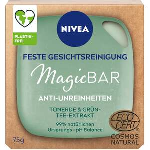 NIVEA MagicBar Anti-Unreinheiten feste Gesichtsreinigung