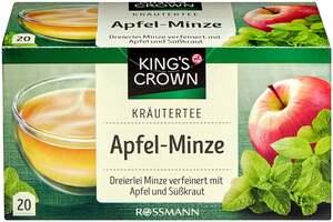 KING'S CROWN Kräutertee Apfel-Minze