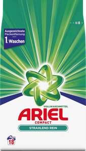 Ariel Compact Strahlend Rein Vollwaschmittelpulver 18WL