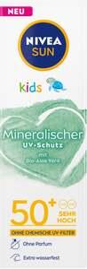 NIVEA SUN Kids mineralischer Schutz mit Bio-Aloe Vera Lotion LF50+