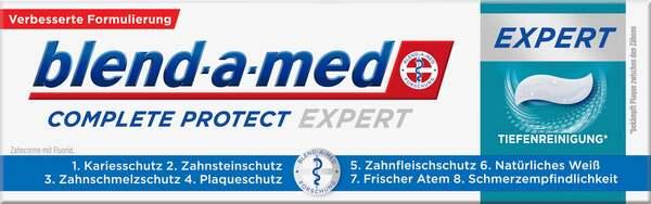Blend-a-med Zahnpasta Complete Protect EXPERT Tiefenreinigung
