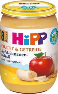 HiPP Bio Frucht und Getreide Apfel-Bananen-Müesli