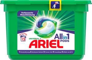 Ariel All-in-1 PODS Universal+ Vollwaschmittel 15WL