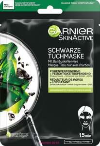 Garnier SkinActive Schwarze Tuchmaske