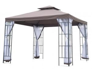 Outsunny Gartenpavillon mit Doppeldach
