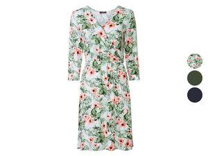 ESMARA® Kleid Damen, in modischer Wickeloptik