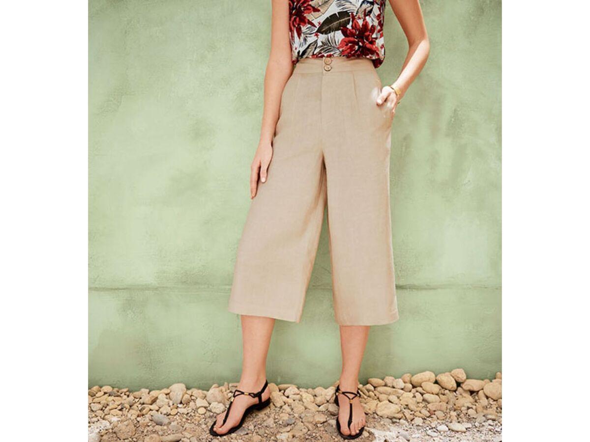 Bild 3 von ESMARA® Hose Damen, in 3/4-Länge, hohe Leibhöhe