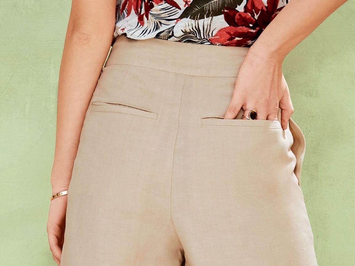 Bild 5 von ESMARA® Hose Damen, in 3/4-Länge, hohe Leibhöhe