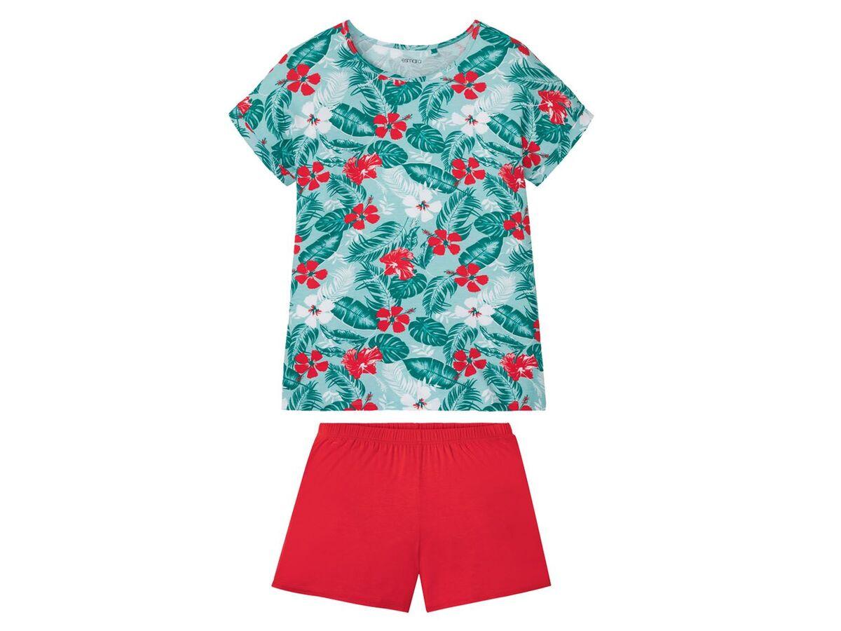 Bild 2 von ESMARA® Shorty Pyjama Damen, mit Rundhalsausschnitt