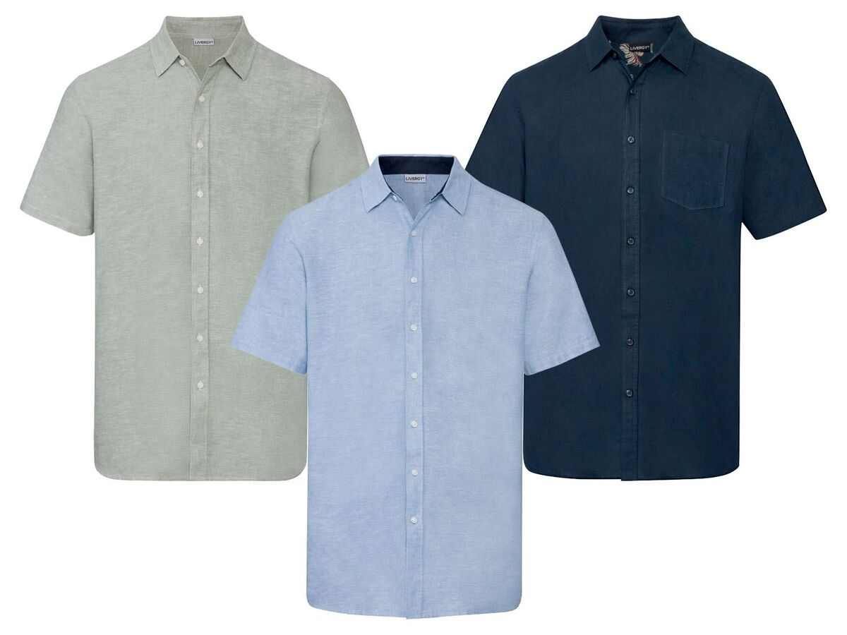 Bild 1 von LIVERGY® Hemd Herren, Regular Fit, mit Kentkragen