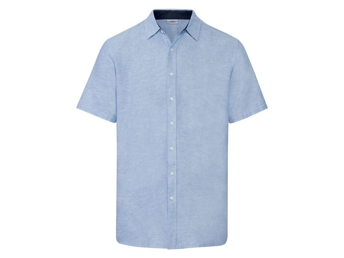 Bild 5 von LIVERGY® Hemd Herren, Regular Fit, mit Kentkragen
