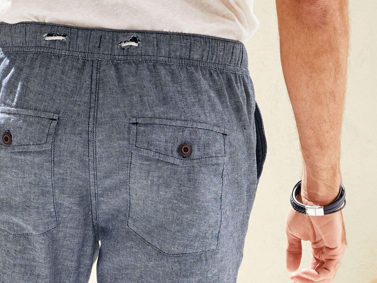 Bild 5 von LIVERGY® Hose Herren, mit Eingrifftaschen, Gesäßtaschen