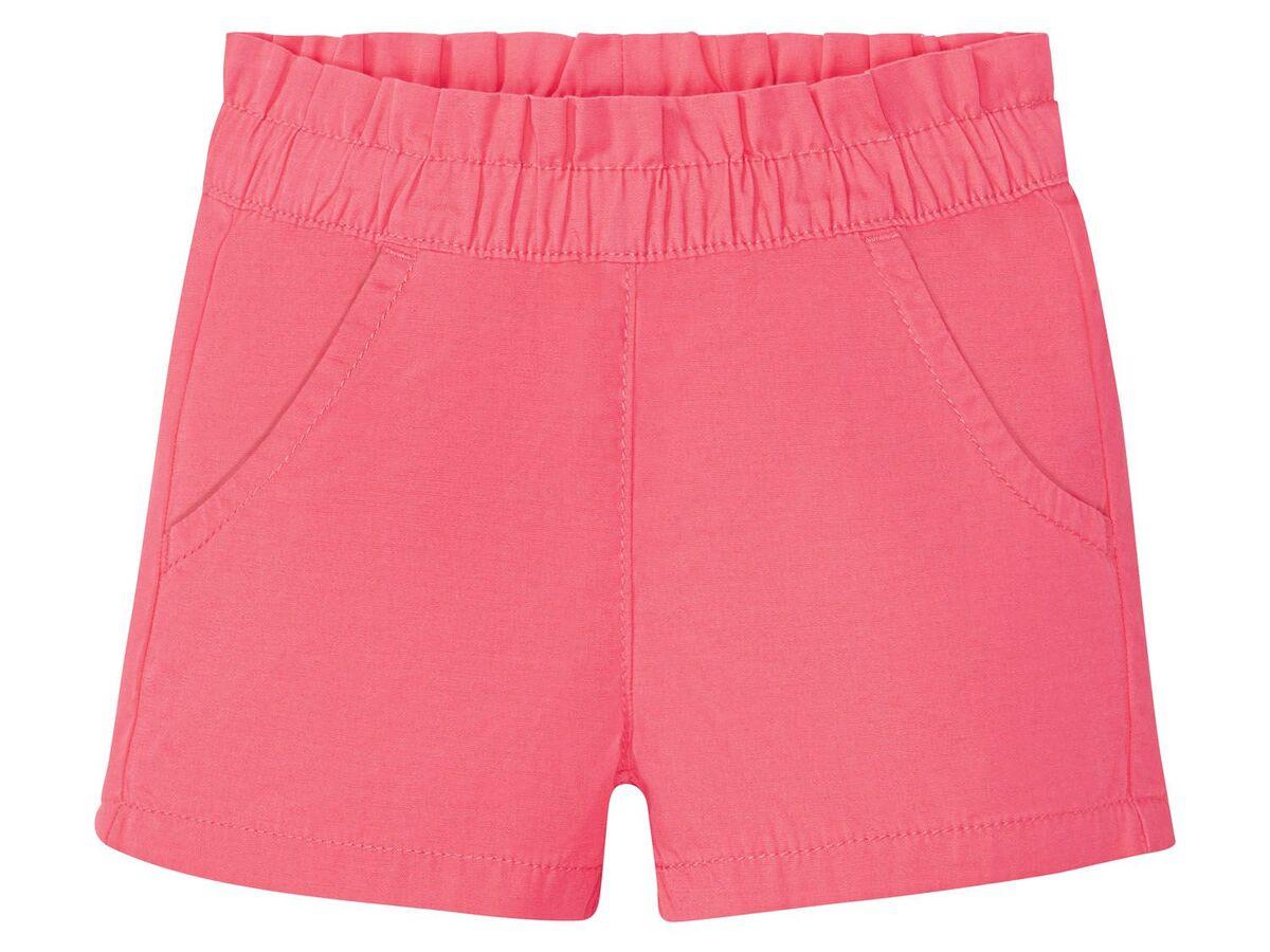 Bild 3 von LUPILU® Kleinkinder Shorts Mädchen, 2 Stück