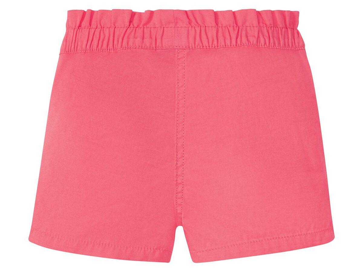 Bild 4 von LUPILU® Kleinkinder Shorts Mädchen, 2 Stück