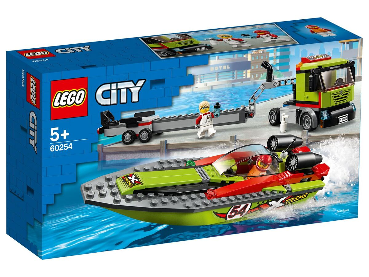Bild 1 von LEGO® City 60254 »Rennboot-Transporter«