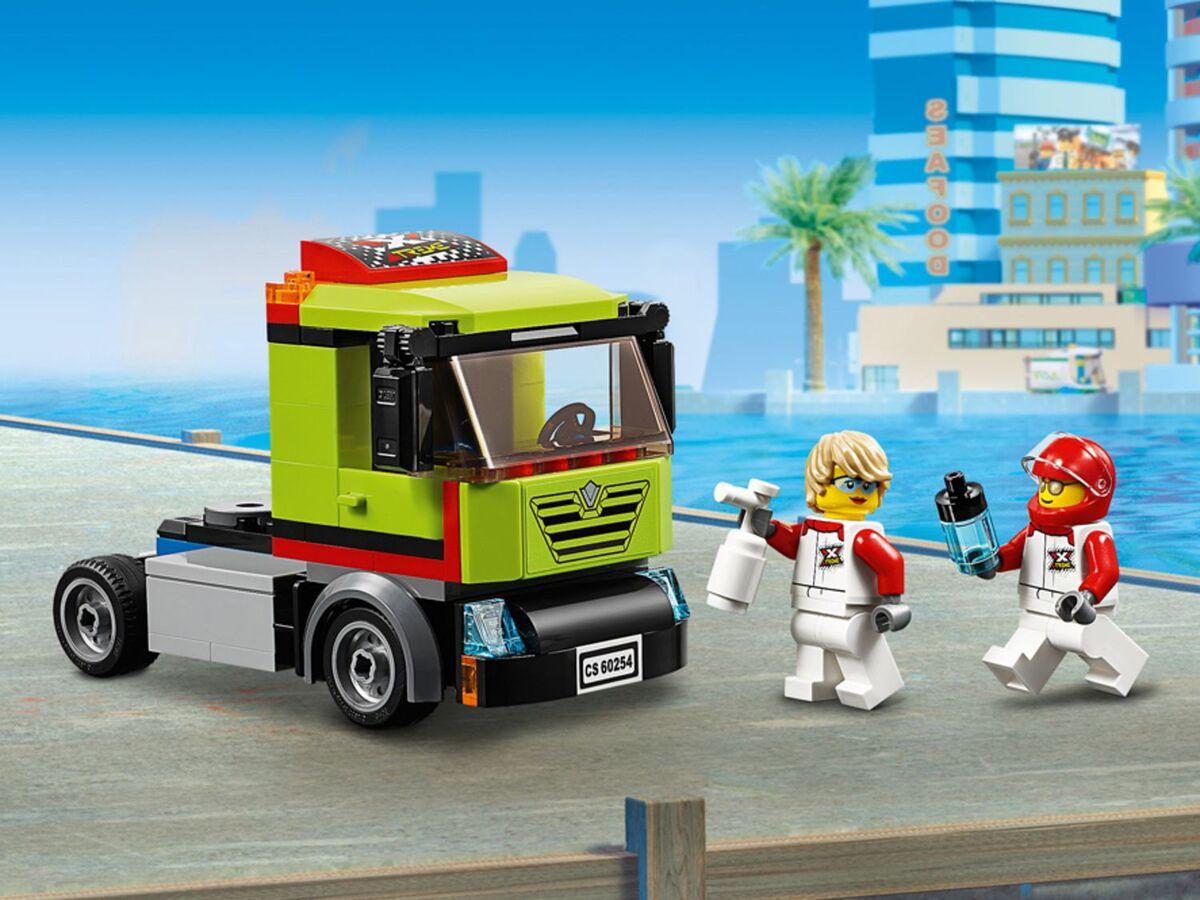 Bild 4 von LEGO® City 60254 »Rennboot-Transporter«
