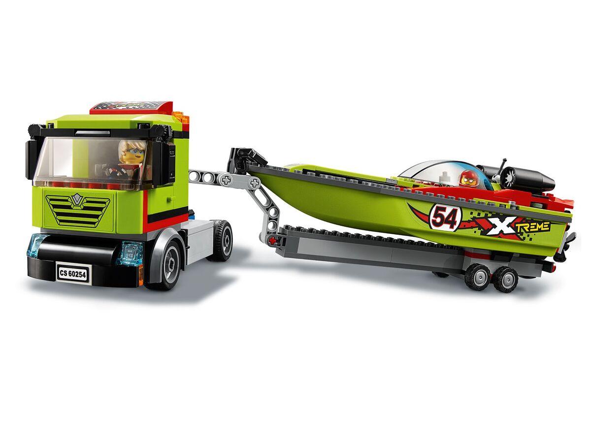 Bild 5 von LEGO® City 60254 »Rennboot-Transporter«