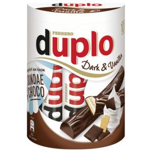 Duplo Dark & Vanilla 182g, 10 Stück