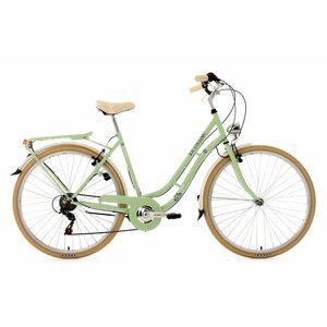 KS Cycling Damenfahrrad Cityrad 6-Gänge Casino 28 Zoll, Grün