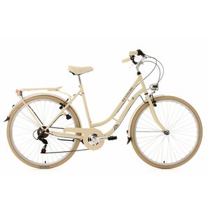 KS Cycling Damenfahrrad Cityrad 6-Gänge Casino 28 Zoll, Beige