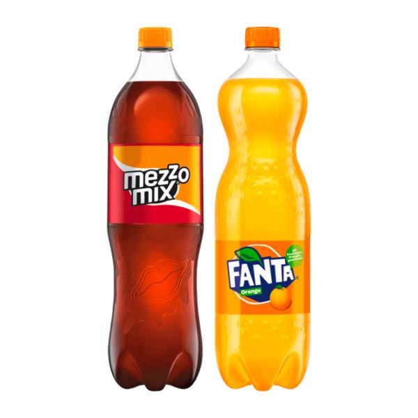 Fanta / Sprite / mezzo mix