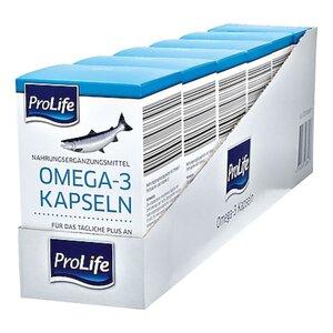 Pro Life Omega 3 Kapseln 120 Stück 85 g, 6er Pack