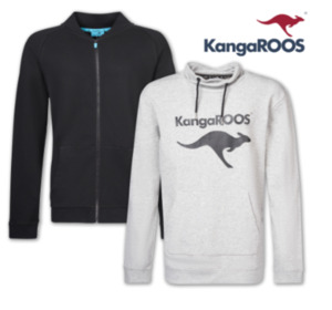 KANGAROOS Herren Sweatjacke oder Sweatshirt