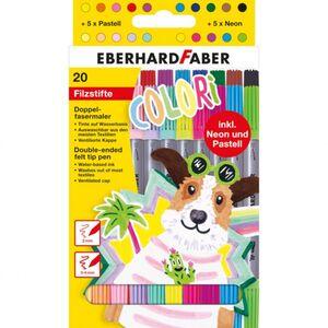 Eberhard Faber - Colori Filzstifte - Doppelfasermaler