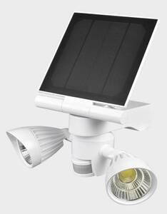 Solar LED Doppelstrahler mit Bewegungssensor