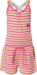 Kinder Jumpsuit, Organic Cotton lila Gr. 98 Mädchen Kleinkinder