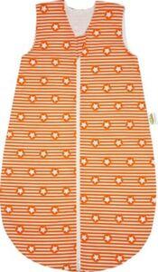 Basic Sommer-Schlafsack, unwattiert, stripes and stars orange, 90