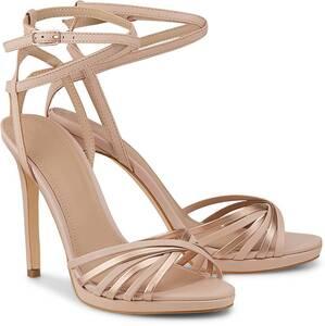 Guess, Riemchen-Sandalette in nude, High Heels für Damen