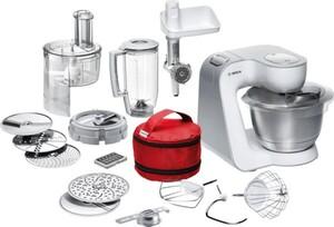 Bosch Küchenmaschine MUM 54270 ,  900 Watt, 7 Schaltstufen, Fleischwolf, Standmixer, Spritzgebäckvorsatz