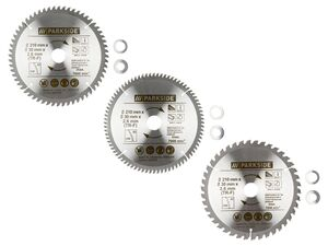 PARKSIDE® Kreissägeblatt »PKSB 210«, 210 mm, aus Stahl