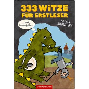 """Coppenrath - Die Spiegelburg Kinderbuch """"333 Witze für Erstleser Mit vielen Bildwitzen"""""""