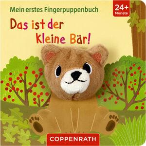 """Coppenrath - Die Spiegelburg Mein erstes Fingerpuppenbuch """"Das ist der kleine Bär!"""""""