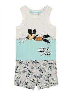 Baby Set aus Tanktop und Hose - Mickey Mouse-Print