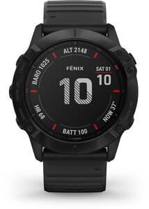 fenix 6X Pro Sportuhr schwarz