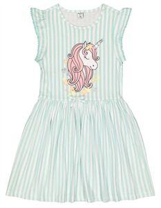 Mädchen Kleid - Print