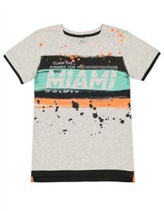 Jungen T-Shirt - Message-Print