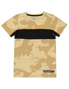 Jungen T-Shirt - Kontraststreifen