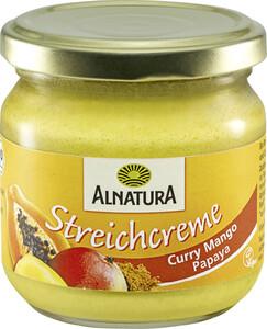Alnatura Bio Streichcreme Curry Mango Papaya 180 g
