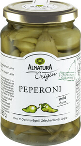 Alnatura Origin Bio Peperoni mild 350G