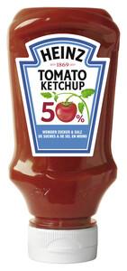 Heinz Tomato Ketchup 50% weniger Zucker & Salz 220ML