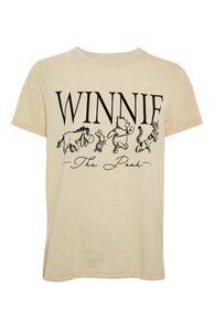 """Gelbes """"Winnie Puuh"""" T-Shirt mit Print"""