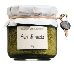 Cascina San Giovanni Pesto di rucola - Raukenpesto 80g 0000 - Saucen, Pesto & Chutneys, Italien, 0.0800 kg